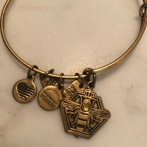 Alex and Ani Queen bee charm